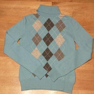 Apt.9 women's 100% Cashmere Turtle Neck Sweater